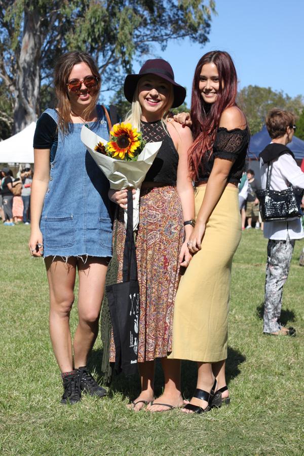 Izzy, Carlea and Sharni, Streetstyle