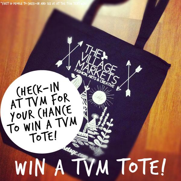 WIN a TVM Tote