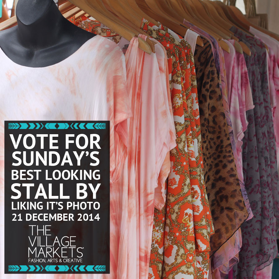 Vote for Sunday's Best Looking Stall