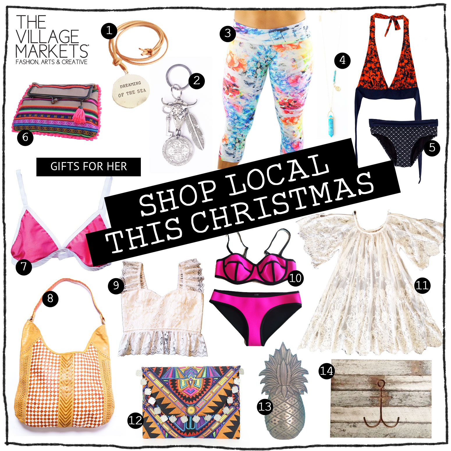 Christmas Gift Guide - For Her - The Village Markets