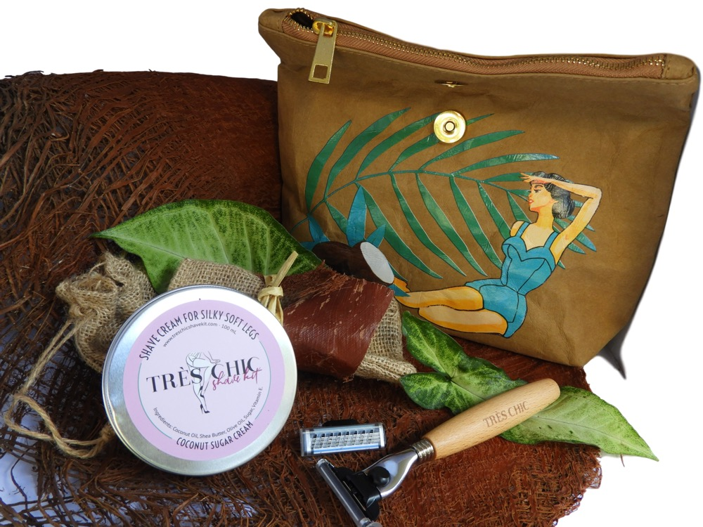 Stall Profile :: Tres Chic Shave Kit - The Village Markets